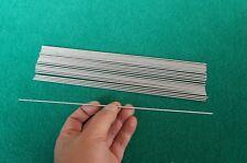 "2mm Dia Titanium 6al-4v round bar .08"" x 10"" Ti Wire Welding grade 5 rod 25pcs"