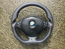BMW M3 M5 E46 E39 NEW FLAT BOTTOM CUSTOM MADE STEERING WHEEL