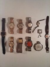 Vintage Watches - Vintage watch lot of Seiko, Citizen, Gotham, Caravelle...