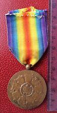 Belgique - Superbe médaillle Victoire Interalliée 1914-18