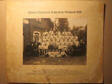 Männer-Turnverein Kakerbeck - Wohlerst 1925 - mit Namen / Foto Zeven