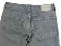Adriano Goldschmied AG Protege Straight Leg Gray Mens Jeans sz 33 hemmed