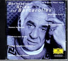 Bernstein: Arias & Barcarolles (CD, Oct-1996, DG Deutsche Grammophon (USA))