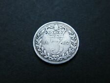 More details for scarce 1882 victoria silver threepence three pence coin