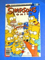 1994 Simpsons Comics #4 FLIP BOOK Bongo WILLY DIPKIN HOMER BART MATT GROENING!