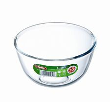 Pyrex Glass Bowl 1.0L Borosilicate Classic Easy Prepare Cook Bake Microwave Safe