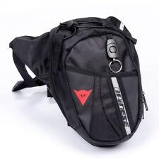 Herren Praktische Motorrad Reise Hüft Bauch Gürtel-Tasche Leg Bag Bein Tasche DE