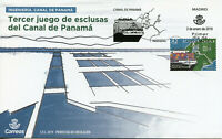 Spain 2019 FDC Engineering Panama Canal 1v Cover Boats Ships Nautical Stamps