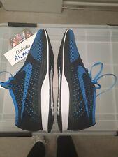 Nike Flyknit Racer Blue Black Htm 526628-001 Us12 Eu46