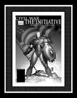 Civil War: The Initiative #1 Cover Production Art by Marc Silvestri - Iron Man