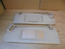 VOLVO 850 1996 PAIR OF SUN VISORS WITH 2 MIRRORS AND CLIPS