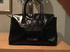 Jasper Conrad women's leather black and leopard skin bag
