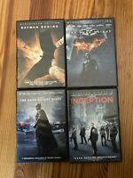 Christopher Nolan Movie Collection - Batman Trilogy And Inception