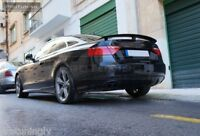 Boot wing For Audi A5 Coupe 2D rear Spoiler Lip RS s Sline s-Line Trunk S5 5