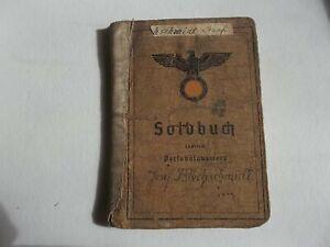 Soldbuch originale giovane artigliere tedesco Heer WW2