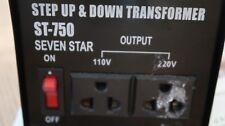 Sevenstar ST-750 Step Up/Step Down Transformer (750 Watts)