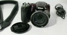 Nikon COOLPIX L830 16.0MP Digital Camera - Plum and Accessories