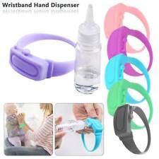 Portable Sillicone Soap Bracelet Hand Dispenser Wristband Band Squeeze Bottle