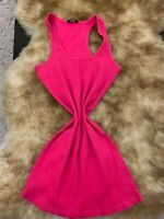 Tezenis pink cotton Camisole Top sleepwear nightwear size m