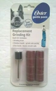 Oster Gentle Paws REPLACEMENT GRINDING KIT 1-Drum 8-Bands for Dogs Nail Grinder