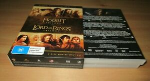 Hobbit Trilogy / Lord Of The Rings Trilogy DVD [6 Disc Set]