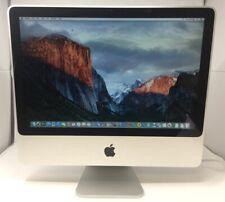 "20"" Apple iMac 7,1 Desktop A1224 - Intel Core 2 Duo @ 2.0GHz 4GB RAM 250GB HDD"