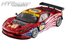 HOT WHEELS ELITE 1:18 FERRARI 458 ITALIA GT2 LM 2012 AF CORSE DIECAST RED BCT78