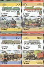Tuvalu-Funafuti 85-92 Paare (kompl.Ausg.) postfrisch 1986 Lokomotive