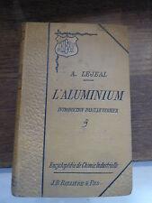 l'aluminium - introduction U. Le Verrier par Adolphe Lejeal - 1894