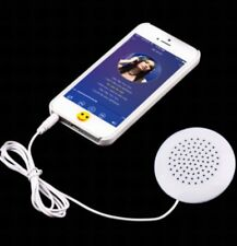 520 mini 3.5 mm pillow speaker for mp3/mp4 player/ipod phone, white