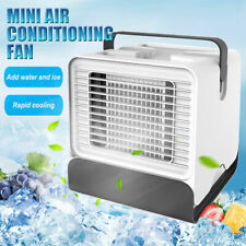 Portable Mini Air Conditioner Water Cool Cooling Fan Cooler Humidifier Purifier