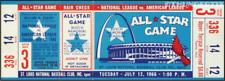 1 1966 ALL-STAR GAME VINTAGE UNUSED FULL TICKET BASEBALL reproduction laminated!