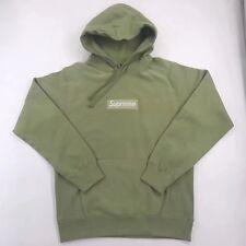 Supreme Box Logo Hoodie Green Tea Size XL FW16 Brand New