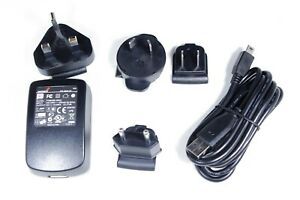 Genuine TomTom Travel AC Charger 5V 1A PSB05R-050Q with International Adapters