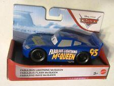 "Disney Cars Blue Fabulous Lightning McQueen  5 1/2"" vehicle New!"