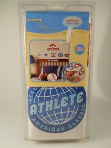 Project Decor Sports Themed Peel and Stick Removable Reusable Appliques mjZOOM