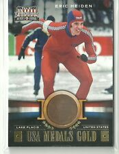 2012 Panini Americana Eric Heiden USA Medals Gold #ed 1 / 1 Only 1 Made!