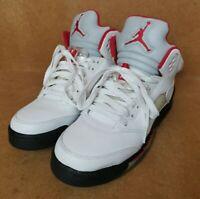 Nike Air Jordan 5 Retro GS Fire Red 2013 Sneakers / Trainers - Size UK 6 EU 39