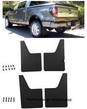 For 10-14 Ford F150 SVT Raptor Complete Set Front + Rear Mud Flaps Guard Kit