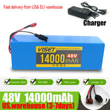 Ebike Battery 48V 14Ah  Lithium li-ion Battery Pack  Electric Bicycle 2A Charger