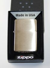 ZIPPO Feuerzeug Sturmfeuerzeug messing gold Brass Brushed 1025204 NEU OVP