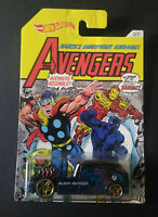 HOT WHEELS - MARVEL - THE AVENGERS - QOMBEE BALCK PANTHERS - POP CULTURE - 5326