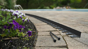 Flexi-Pro Paver Edging - 24 ft. Professional Grade with 24 spikes
