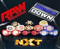 14 WWE Custom Mega Bundle Titles Belts For Jakks/Mattel Wrestling Figures WWF