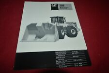 Caterpillar 950F Series II Waste Handling Wheel Loader Brochure DCPA14