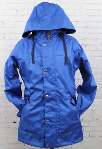 New Burton Womens Ginger Snowboard Jacket Extra Small Cornflower
