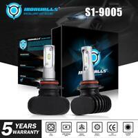 9005 HB3 2100W 315000LM CSP LED Headlight Bulb Kit High Beam Power 6000K White