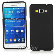 Black Gel Silicone TPU Matte Skin Cover Case Samsung Galaxy Grand Prime SM-G530H