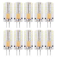 10 x G4 LED Ampoule Lampe AC / DC 12V 3W 48 LEDs SMD 3014 Blanc chaud et froid