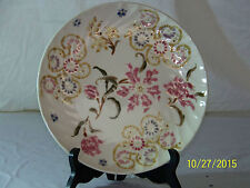 Zsolnay Hungarian Hand Painted Porcelain Vintage Plate